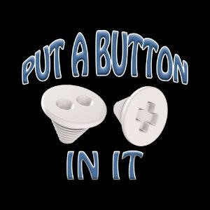 embalmer trocar button funny shirt blue
