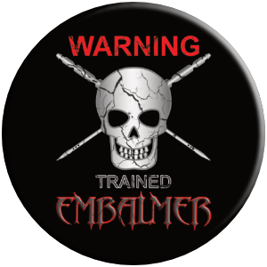 PopSocket phone grip trained embalmer warning