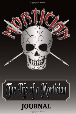 life of a mortician journal gift