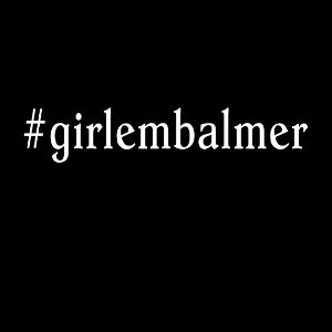 girl embalmer tshirt straight text