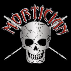 mortician skull trocars tshirt