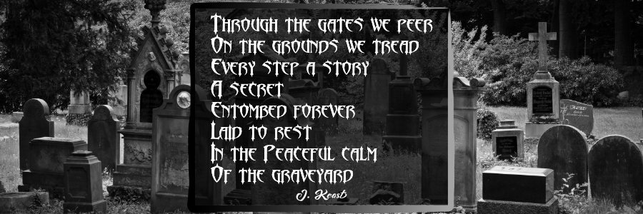 graveyard poem on the about us page