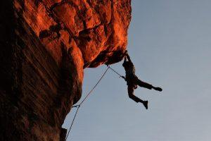 rock climbing risk taking adventure