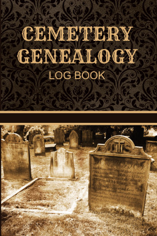 cemetery genealogy research log book western style