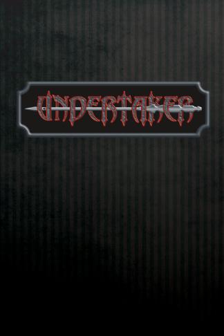 undertaker trocar blank lined journal gift