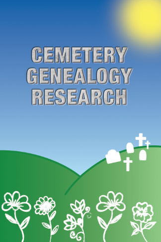 cemetery genealogy research book pretty gift