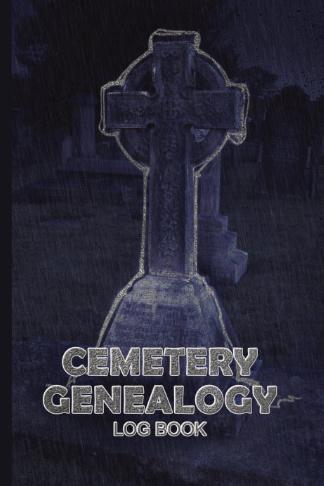 cemetery genealogy log book spooky headstone