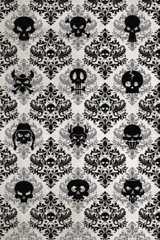 skull wallpaper journal cool gift