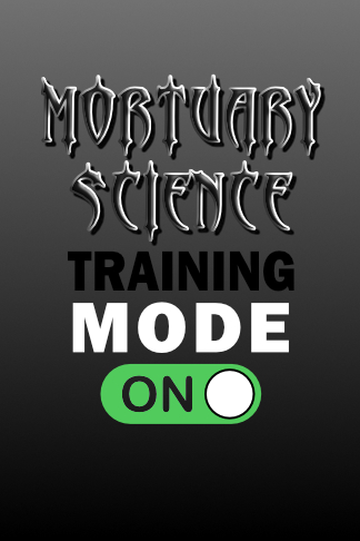 mortuary science college school notebook