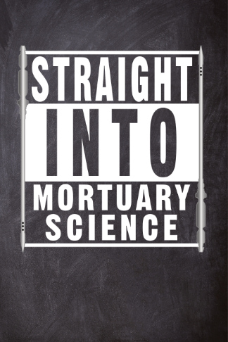 straight into mortuary science with Trocars journal school notebook