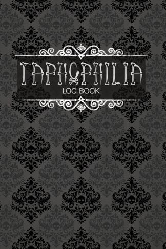 taphophilia log book cemetery genealogy goth bones