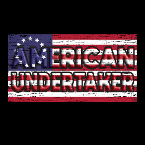 American Undertaker Betsy Ross Flag hoodie t-shirt gift