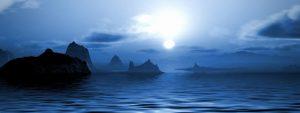 blogpost picture night ocean rocks moonlight