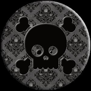cute skull Halloween gift for her