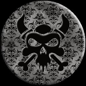 viking skull cool Halloween gift popsocket