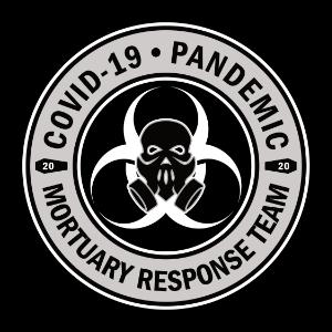 corona virus pandemic mortuary response skull