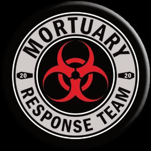 mortuary response team biohazard symbol popsocket