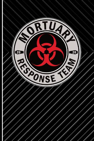 mortuary response team 2020 biohazard symbol mortician journal
