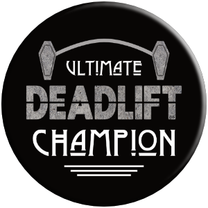 Ultimate deadlift champion embalmer coffin gym gift