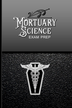 Password Logbook with Mortuary Science Exam Prep Fake Cover